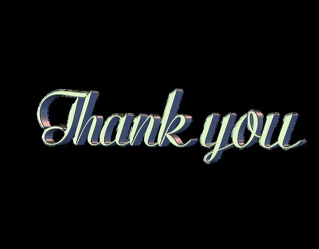 「ありがとうは9位」